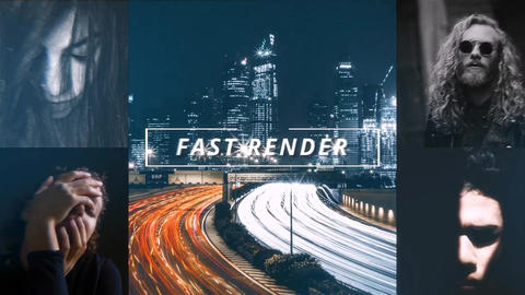 Fast modern opener After Effects Template