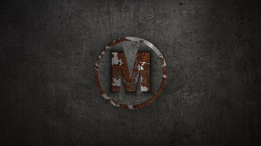 Metal Simple Logo After Effects templates