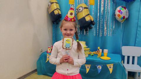 Little Girl Birthday Archivo