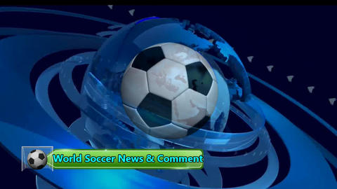 FOOTBALL NEWS OPENER Animation
