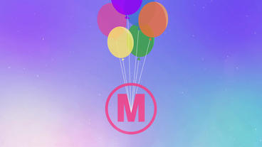 Flying Balloons Logo Reveal After Effects Template