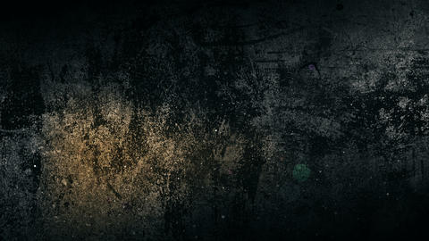 Dirty messy grunge background with glitch effect. Horror texture with particles Animation