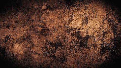 Red rusty grunge abstract loopable background with glitch effect. Horror texture Animation