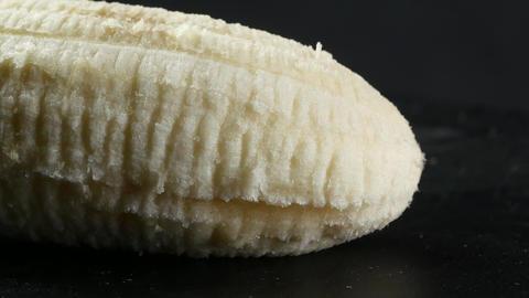 Banana skin extreme close up stock footage. Banana skin... Stock Video Footage