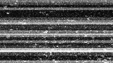 Three tv noise abstract backgrounds with glitch effect Animación