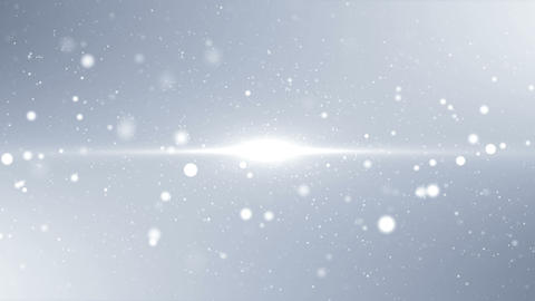 White clean background with particles and sparks. Soft celebration texture with Animation