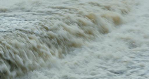 fast stream waterfall Footage