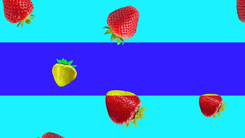 Abstract colorful fruit animation Animation