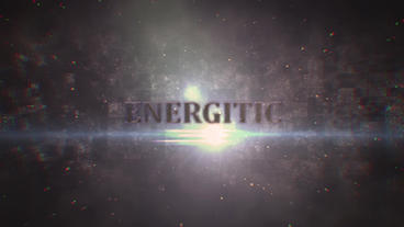 Dark Epic Title After Effects Template