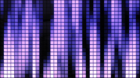 Neon Tiles Wall Light 4K - Vertical Lines - Retro Future Purple Animation