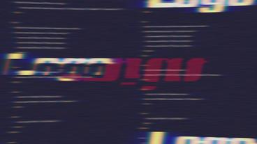 Fatal Error Glitch Logo Reveal 4k Plantilla de After Effects