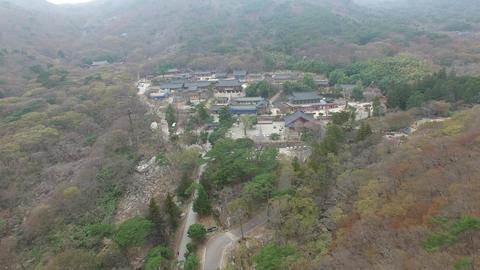 Landscape of Beomeosa Temple at Spring Season, Busan , South Korea, Asia Archivo