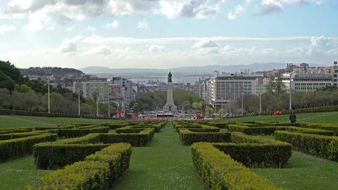 Parque Eduardo VII in Lisbon Image