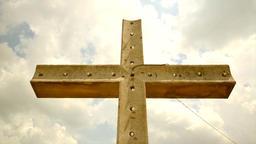 Cross christian religion belief Footage