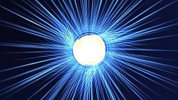 Worm hole speed of light speed rays Footage