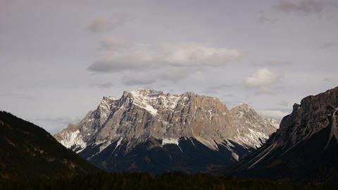 Peak in Austrial Alps, Tirol Stock Video Footage