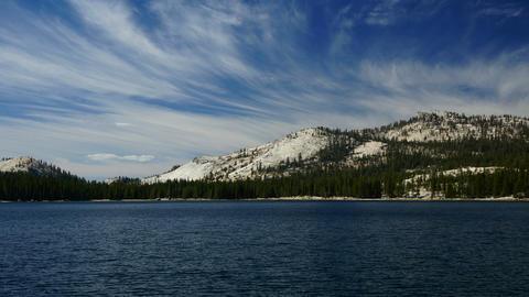 Tenaya lake, Yosemite, USA Stock Video Footage
