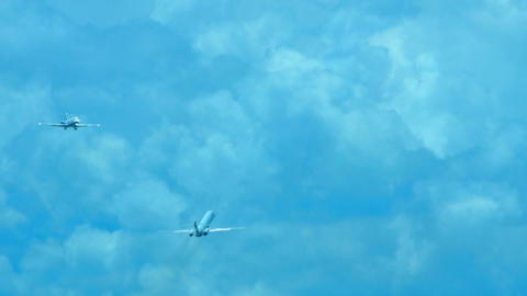 Airplanes Stock Video Footage