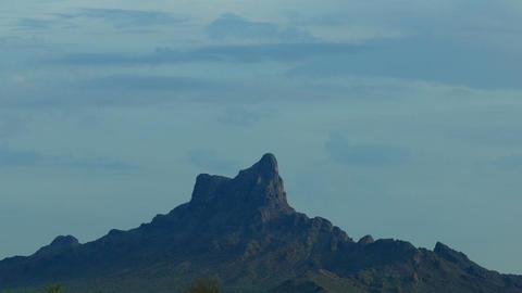 Picacho Peak, USA Stock Video Footage