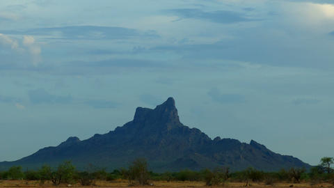 Picacho Peak, USA Stock Video Footage