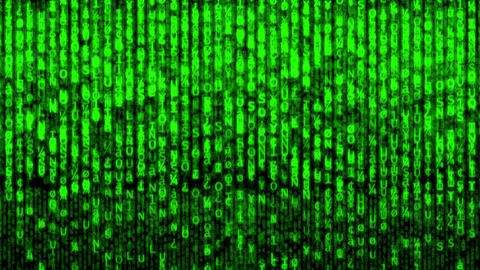 Matrix stock footage