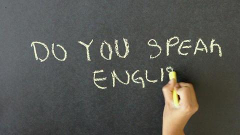 Do You Speak English? Stock Video Footage