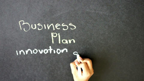 Business Plan Time lapse Stock Video Footage