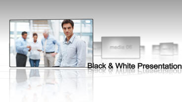 Black & White Presentation - After Effects Template After Effects Project