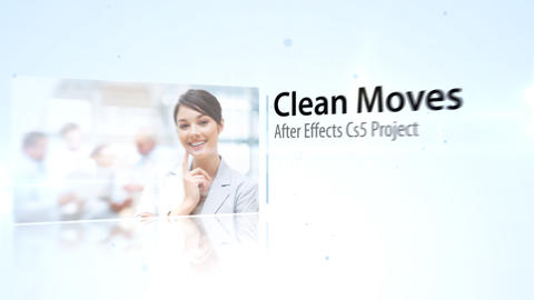 Clean Moves - After Effects Template After Effectsテンプレート