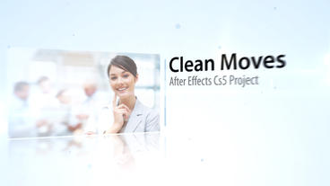 Clean Moves - After Effects Template After Effects Project