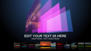 Dynamics Colors - After Effects Template After Effects Template
