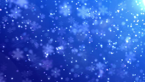 Defocus Light Snow BBS 2 HD Stock Video Footage
