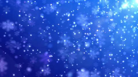 Defocus Light Snow BBS 2 HD Animation