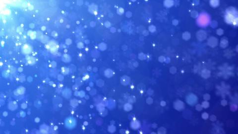 Defocus Light Snow BBS 4 HD Stock Video Footage