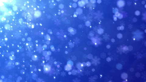 Defocus Light Snow BBS 4 HD Animation