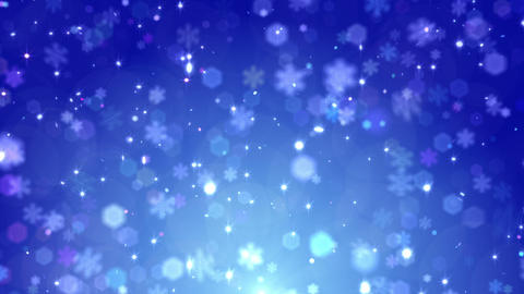 Defocus Light Snow BBS 6 HD Stock Video Footage