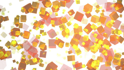 Random motion of particles, Loopable Animation