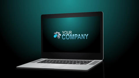 Laptop Presentation - After Effects Template After Effectsテンプレート