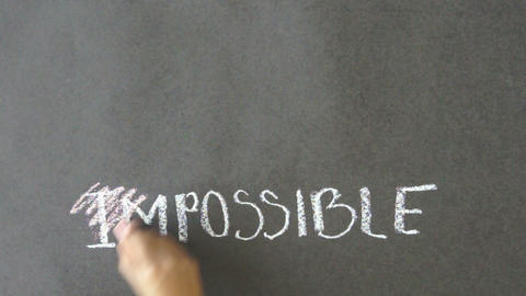 Everything is possible Stock Video Footage