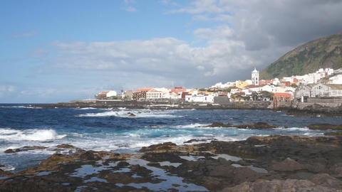 Garachico Village, Tenerife Footage