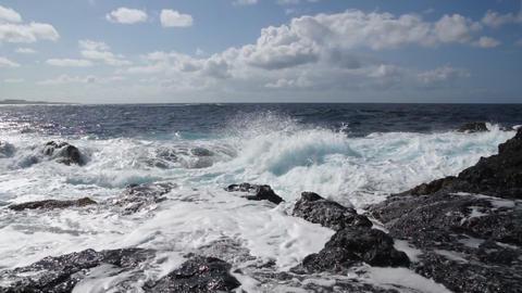Storm ocean waves Footage