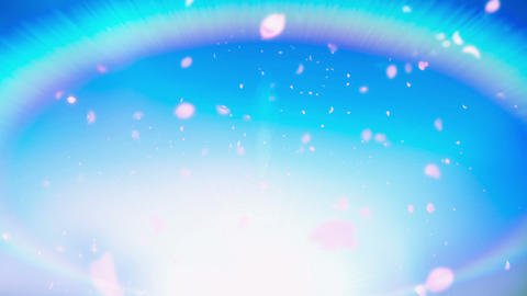 Cheery Blossom Rainbow 01A Animation