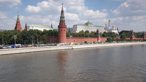 Moscow Kremlin Stock Video Footage