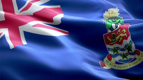Flag Cayman-Islands Animation