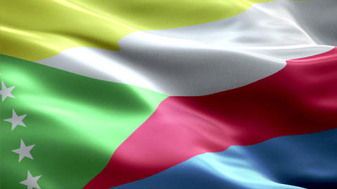 Flag Comoros Animation