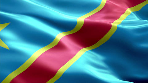 Flag Democratic-Republic-of-the-Congo Animation