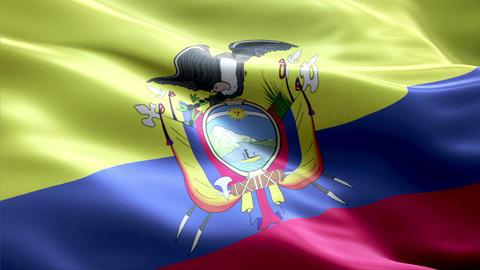 Flag Ecuador Animation