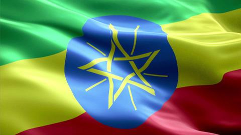 Flag Ethiopia Animation