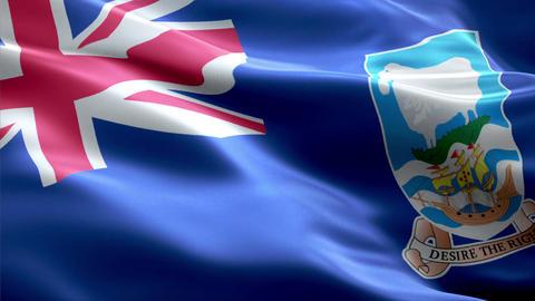 Flag Falkland-Islands Animation