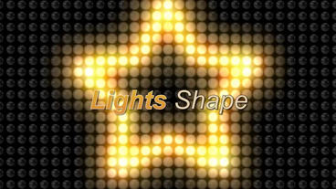 Lights Shape After Effects Template